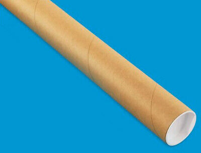 """1 Mailing Tube with End Caps (2"""" x 30"""") Shipping Poster Artwork Print Packing"""