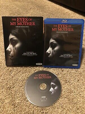 The Eyes of My Mother Blu-ray Disc & Case w/ Slipcover Foreign Horror NEAR MINT
