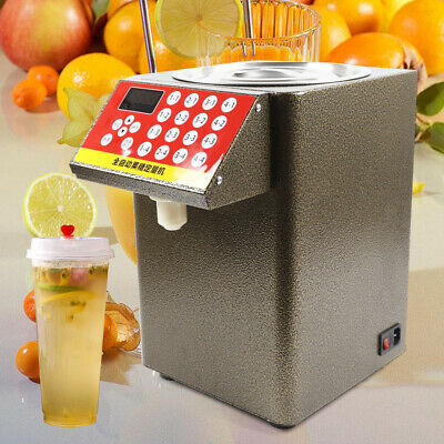 8000cc Bubble Tea Equipment Fructose Quantitative Machine Fructose Dispenser Hot