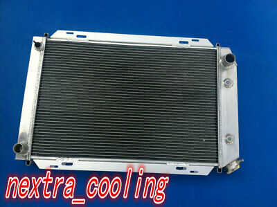 2Row Aluminum Radiator For 1979-1993 Ford Mustang 1980 1981 82 83 84 85 86 1992