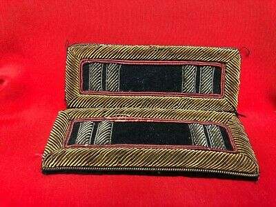 RARE Original set of Civil War Staff Inspector Captains Officer Shoulder Straps!