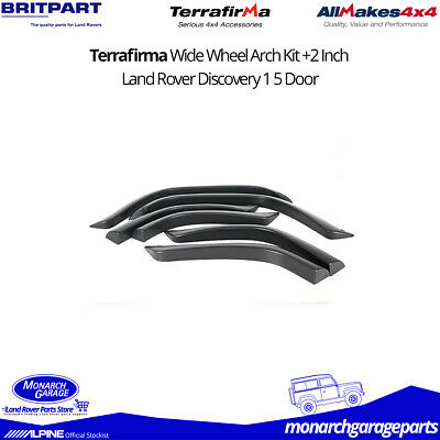 Land Rover Discovery 1 Wide Wheel Arch Extension Kit +2 Inch 5 Door Terrafirma