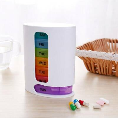 Weekly Daily Pill Box Organiser Tablet Medicine Holder Storage Dispenser 7 Day