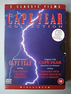 Cape Fear Collection Box Set (1961 film and 1991 remake) 3 Disc DVD
