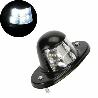 1X LED Lamp Iron License Number Plate for SUV Van Trailer Truck Accessories 12V