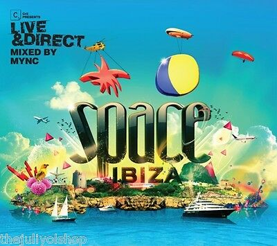 2 CD mas DVD ....SPACE IBIZA LIVE & DIRECT MIXED BY MYNC.....rare for fansssssss