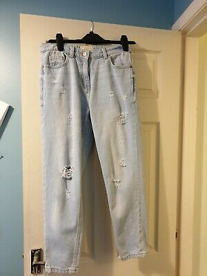 Girls pale denim jeans from Next age 13 years in excellent condition