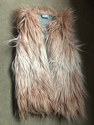 Girls Next Fur Gilet Age 6 Years
