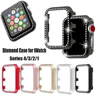 Aluminum Alloy Frame Metal Shell Screen Saver For Apple Watch Series 4 3 2 1