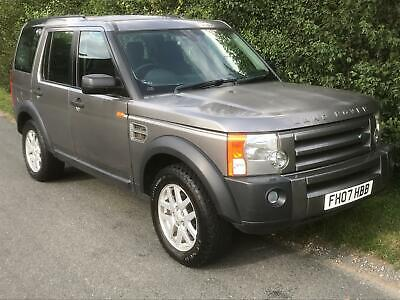 Land Rover Discovery 3 2.7TD V6 2007MY XS MANUAL WITH TOWBAR