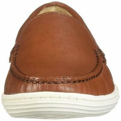 Kids Marc Joseph New York Boys broadway Leather Slip On, Amber Nappa, Size 4.5 y