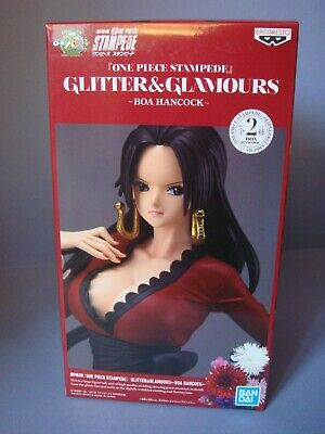 One Piece Stampede Movie Glitter & Glamours Boa Hancock Ver B 25cm Neuf Boîte