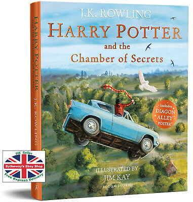 HARRY POTTER AND THE CHAMBER OF SECRETS Illustrated Edition PAPERBACK *NEW*
