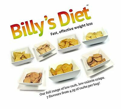 7, 14 or 21 Bags of Crisps, Diet Snacks, Low Calorie, Low carb, and high Prot...