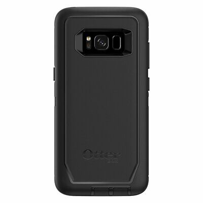 OtterBox Defender Series Case for Samsung Galaxy S8, Black w/Holster Belt Clip
