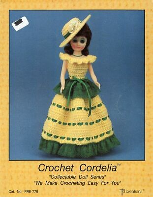 """Mi Mi Doll Outfit for 15/"""" Doll TD Creations Crochet PATTERN//INSTRUCTIONS"""