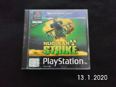 Nuclear Strike Original Sony Playstation 1 Ps1 Psx One Ps2