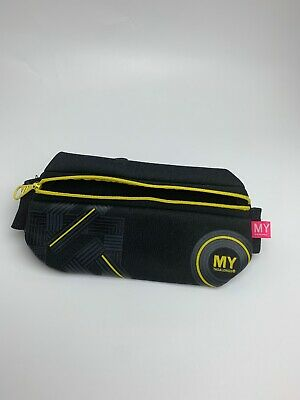 MY TAGALONGS WAIST BAND IT ATHLETIC FANNY PACK NAVY  BLUE  QUILTED NWT