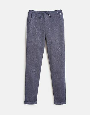Joules Girls Jazzy Luxe Sparkle Trousers  - MID NAVY