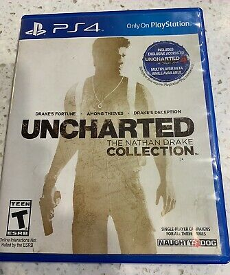 Uncharted - The Nathan Drake Collection (Sony Playstation 4, 2015)
