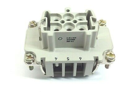 Contact Electronics H-BE 6 BCM Female Insert 101810000