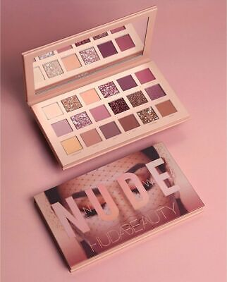 Brand New HUDA BEAUTY Nude Matte Eyeshadow Palette Eye Shadow 18 Colors UK