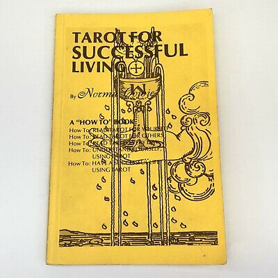 Tarot For Successful Living By Norma Cowie Author Inscribed & Signed 1983