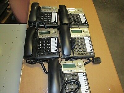 AT&T 2 Line Corded Phones ML17929 / Speakerphone / Power Supply #3110 Lot of 5