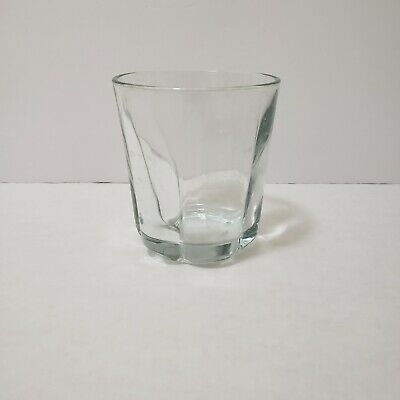 1 Anchor Hocking Sure Guard Tumblers Heavy Clear Glasses  10 oz