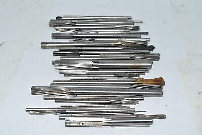 LARGE Mixed Lot of Machinist Reamers Used Cutters