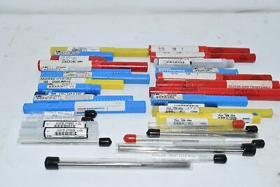 LARGE Mixed Lot of Machinist Reamers Most New In Cases, Some Used
