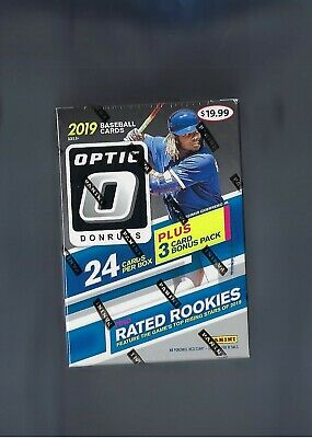 2019 Donruss Optic O Baseball Blaster Box New Sealed Exclusive Pink Parallels !