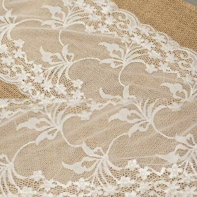 Table Burlap Lace Patchwork Table Runners Christmas Wedding Party Table s2zl