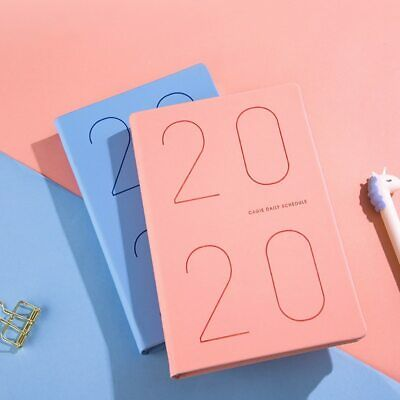 Agenda 2020 Planner Organizer Diary A5 Notebook And Journal Weekly Monthly Cute