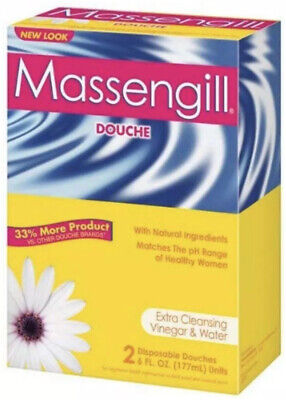 Massengill disposable douche, with extra cleaning vinegar and water - 6 fl Oz