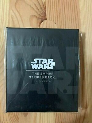 Star Wars Disney The Empire Strikes Back 1OZ Silver coin Limited Edition