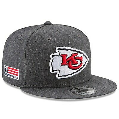 Kansas City Chiefs New Era 9Fifty Crafted In America Field Snapback Hat Cap NFL