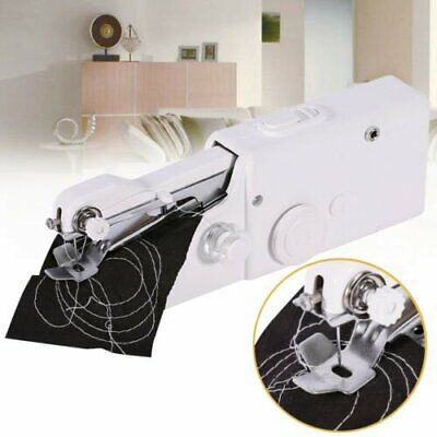 Mini Portable Stitch Home Handheld Hand Held Cordless Clothes Sewing Machine SQ