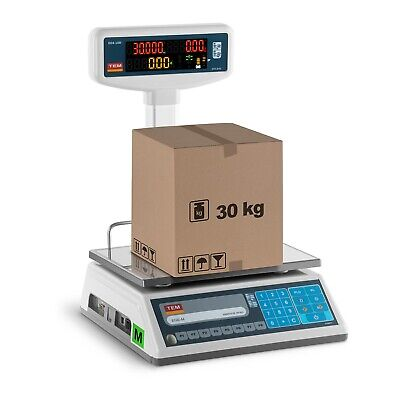 Professional Electronic Weighing Scale Commercial Cash Scale Market Scale Led