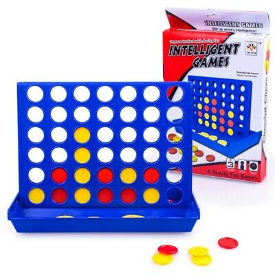 Large Connect 4 In 1Line Educational Board Game for Kids Family gui Hot