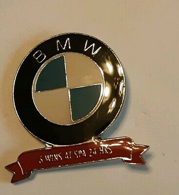 BMW  - 4 Wins at Spa 24hrs Lapel Pin Badge excellent condition