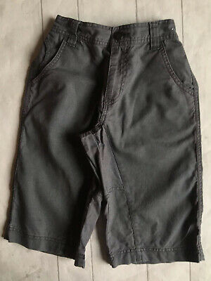 Older Boys Clothes 6yrs - Clean & Nice Grey Colour Shorts By NEXT 🍁🍁🍁