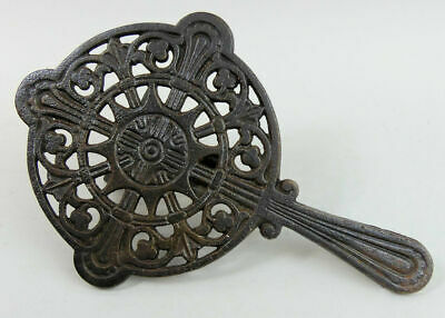 Victorian Antique Cast Iron Trivet C.1880