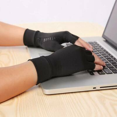 Copper Compression Gloves Fit Arthritis Carpal Tunnel Hand Support Pain Relief t
