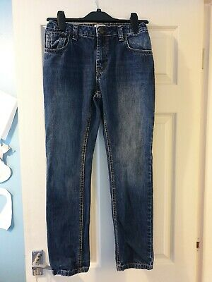 Boys Penguin jeans in dark blue denim. Age 12-13Yrs. In exc cond