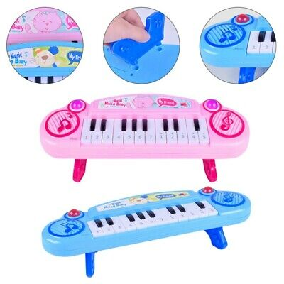 Children Kid Electronic 12 Key Keyboard Piano Music Electric Instrument Toy Gift