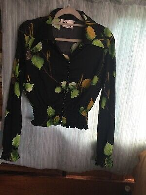 Retro 70's Blouse Remy Wow 36 Chest 10/12
