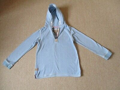 Immaculate Girls Next Blue Hoodie Age 9 Years