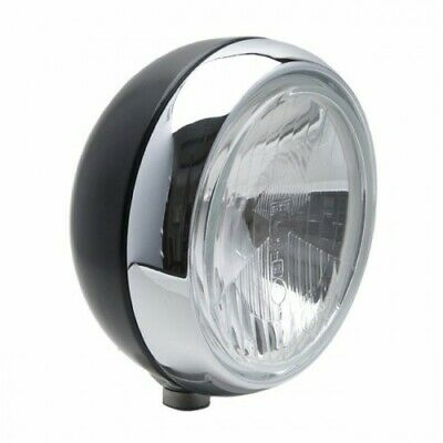 """x2 045305 Of Black /& Chrome Cibie LED 7/"""" Driving lamps with white cover Pair"""