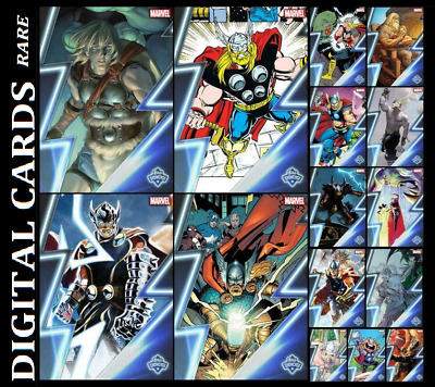Topps Marvel Collect Topps Showcase Thor [ Set 15 Cards]